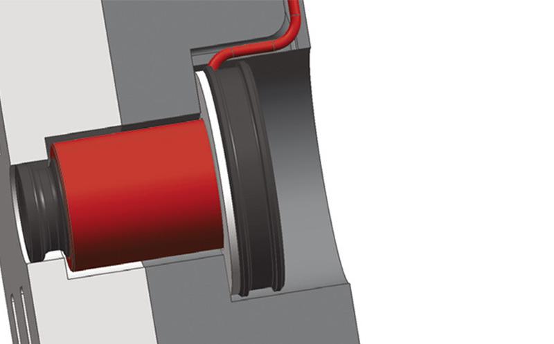 Der Einsatz der hotcast Angussdüse ermöglicht besser ausgeformte Kavitäten, längere Fließwege im Werkzeug und kleinere Kanalquerschnitte bei der Konstruktion des Werkzeugs.