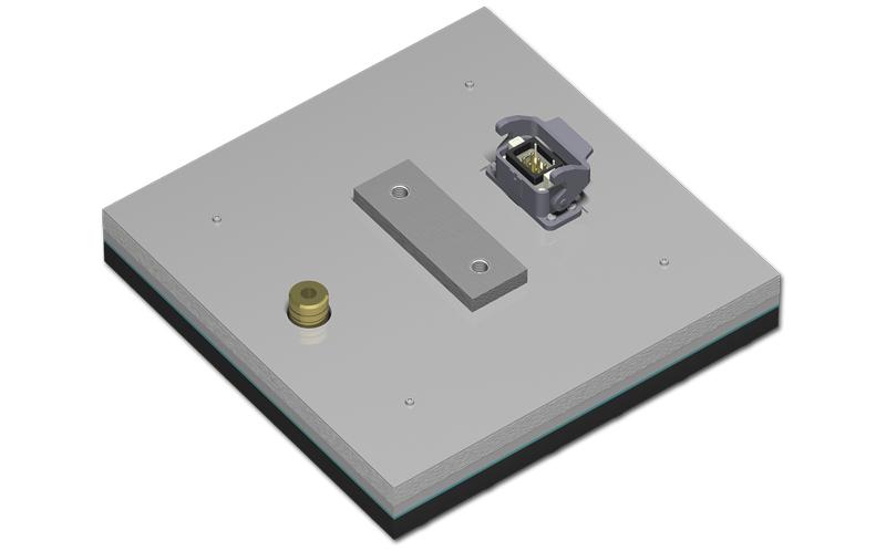 Die Flächenheizplatten des P‑Systems für homogene Temperaturfelder bei der Ver- und Bearbeitung von Kunststofffolien.
